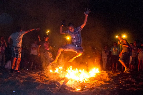Sant-Joan-Festival-Barcelona-Fire-Jumping